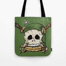 Skull Link Tote Bag