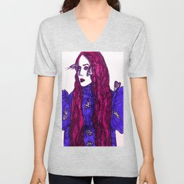 Edith Cushing (Haunted Beauty Series) Unisex V-Neck