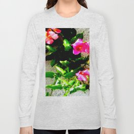 Floral Up Long Sleeve T-shirt
