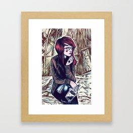 Whiskey Mart Framed Art Print