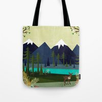 cartoons Tote Bags featuring March by Kakel