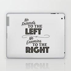 Friends and Enemies - Black Laptop & iPad Skin