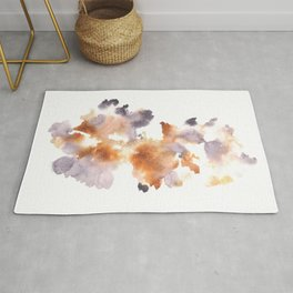 Soft Texture Watercolor | [Grief] Warmth in Hope Rug