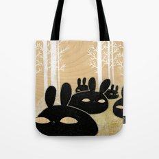 Suspicious Bunnies Tote Bag