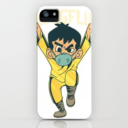 Kung Fu Kind iPhone Case