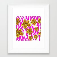 girly Framed Art Prints featuring girly by Ana Lu Grosso