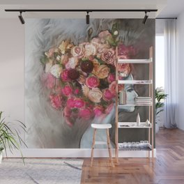Flower Bloom Girl Wall Mural