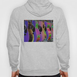 Colorful Acoustic Guitars Hoody