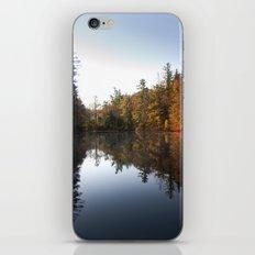 Mirrored Lake in Fall iPhone & iPod Skin