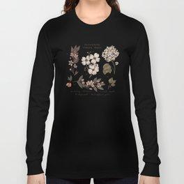 Flowering Spring Trees Long Sleeve T-shirt