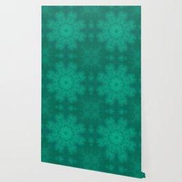 Heart Chakra Mandala fabric Wallpaper