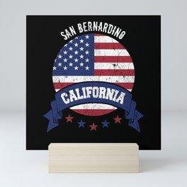 San Bernardino California Mini Art Print