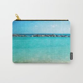 Blue Curacao Carry-All Pouch