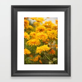 Lean In Framed Art Print
