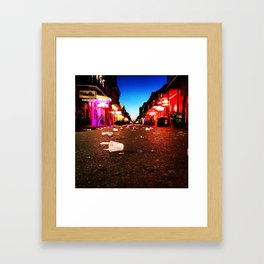 Bourbon Street Framed Art Print