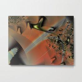 Red Sands Metal Print