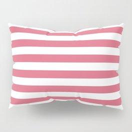 Large Nantucket Red Horizontal Sailor StripesLarge Nantucket Red Horizontal Sailor Stripes Pillow Sham
