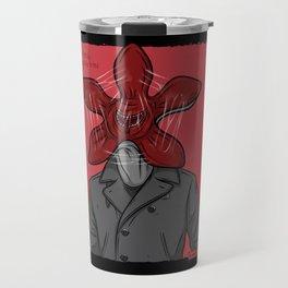 Creature in a coat Travel Mug