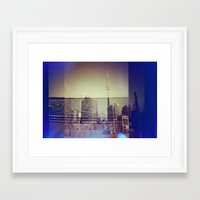 toronto Framed Art Prints featuring Toronto by Jordan Osbourne