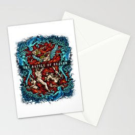 The Battle Of Heaven for people who like  fantasy legends and mythical creatures  Stationery Cards