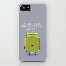 Introverted Jar iPhone Case