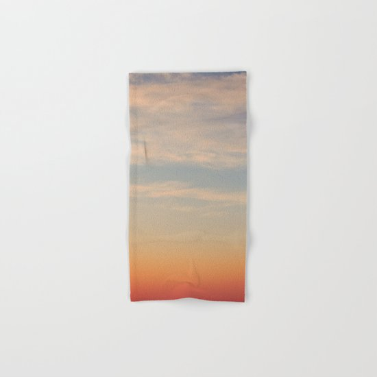 Sunset Sky Hand & Bath Towel
