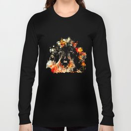 wire haired dachshund dog ws Long Sleeve T-shirt
