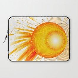Sunstorm - Tormenta solar Laptop Sleeve