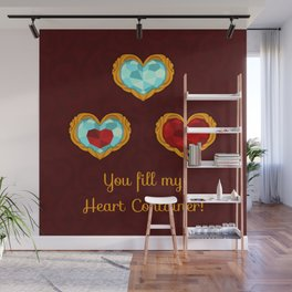 HEART CONTAINER Wall Mural