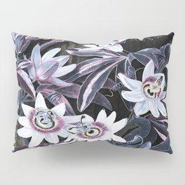 Temple of Flora Blue Lavender Mauve Pillow Sham