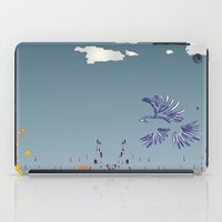 pigeon iPad Cases featuring pigeon by Shelby Claire
