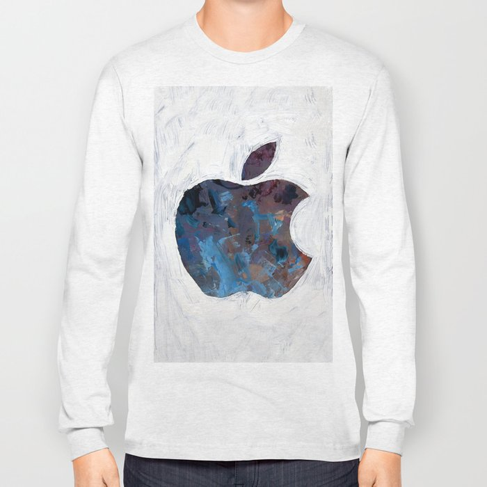 Painted Apple Long Sleeve T-shirt