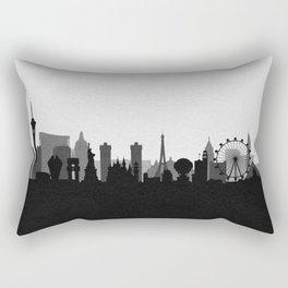 City Skylines: Las Vegas (Alternative) Rectangular Pillow
