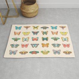 Butterfly Garden Rug
