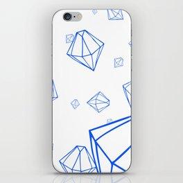 Diamonds in Zero Gravity iPhone Skin