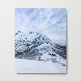 Winter wonderland explorer Metal Print