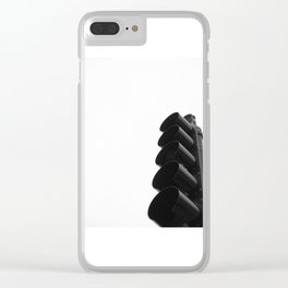 A Sudden Stop in a Windy City Clear iPhone Case