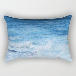 Wild Atlantic ocean Rectangular Pillow