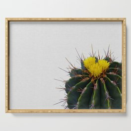 Cactus Flower Serving Tray