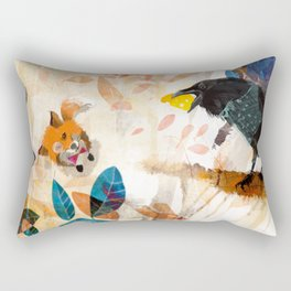The Raven nad the Fox Rectangular Pillow