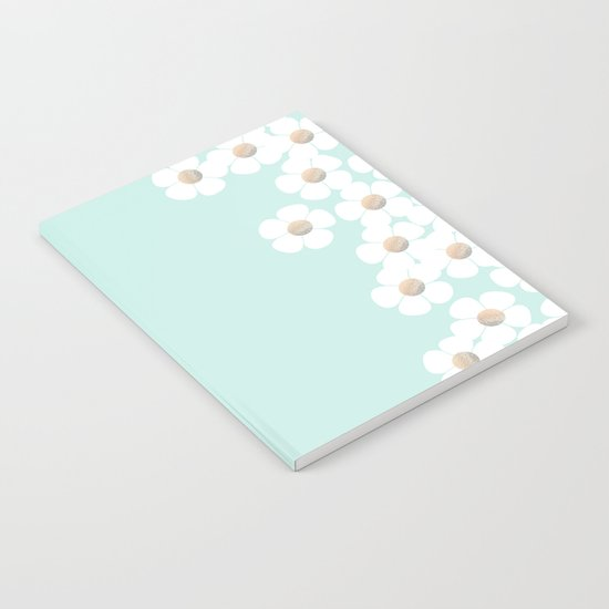 DAISY RAIN MINT Notebook