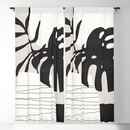 Vase 3 Blackout Curtain