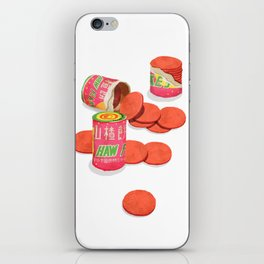 Haw Flakes iPhone Skin