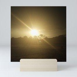 Rays Mini Art Print