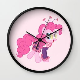 Jolly Pinkie Pie Wall Clock