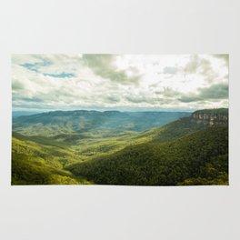 Sun Streams- Blue Mountains Rug