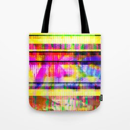 Databending #2 (Hidden Messages) Tote Bag