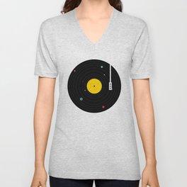 Music, Everywhere Unisex V-Neck