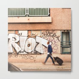 #TAGGING STREETART LIFE BERLIN, GERMANY by Jay Hops Metal Print