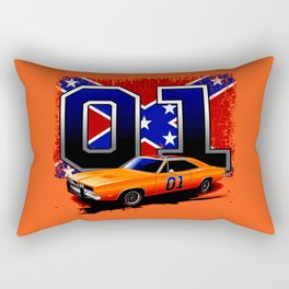 The Hazzards General Lee  Rectangular Pillow